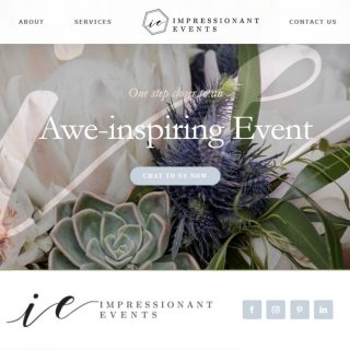 """GUESS WHAT?  We have a beautiful new website! Eeekk!!!   When the pandemic forced us all to slow down, we got time to put on our """"productive pants"""" and finish the details on our new website. Talk about silver linings 👌  Our wonderful designer and friend Chiquitha @thevisualvoid (who we highly recommend) met all our expectations 😍  Can we ask you the biggest favor?  Whilst we are still a few levels away from creating awe-inspiring events again, we would highly appreciate it if you could share our website, this post, or our Instagram account with friends or family that might need our services when all this madness is over.   Website link in bio 😘   #weddingplanners #eventplanners #flowerstyling #decorstyling #coordination #smallbusiness #newwebsite """