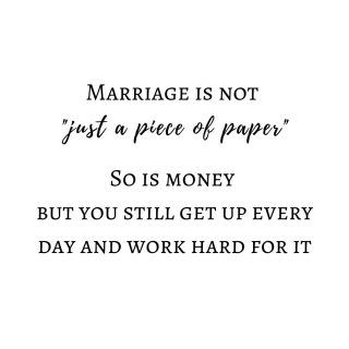 VALID POINT  We went into detail regarding Wedding Budgets over on our Blog this week. One reason why working from a budget whilst planning your wedding is soooo important is summed up in this quote   We believe that a picture perfect wedding does not a marriage  make. Invest in your marriage - budget, plan ahead, don't go into debt before you go into marriage. Start the practice of  communicating clearly with your partner whilst you are still engaged, you will reap the benefits for years to come.      #weddingplanners #weddingbudget #notjustapieceofpaper #workhardforit #quoteoftheday